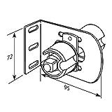 Somfy LT50 Adjustable Intermediate Support Bracket for 2'' Tube