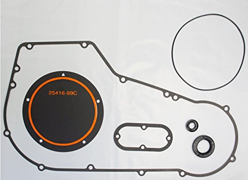 OCP PRIMARY GASKET KIT FOR HARLEY 1999-2005 DYNA TWIN CAM SOFTAIL DERBY,INSPECTION,SEALS