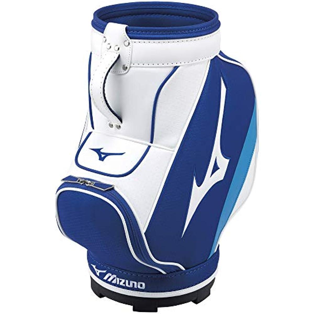 [해외] MIZUNO(미즈노) 골프 수납 케이스 투어 화이트 타입 맨즈 23×23×50CM 화이트×네이비 5LJD202100