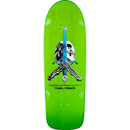 Swiss Powell (Powell-Peralta O.G. Ray Bones Rodriguez Skull & Sword green)