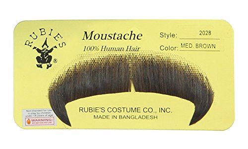 Rubie's Costume Co Winchester Moustache (Medium Brown) One Size ()