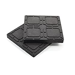 "Camco 44600 Universal Flex Pads For Leveling Blocks, 8.5"" X 8.5"""