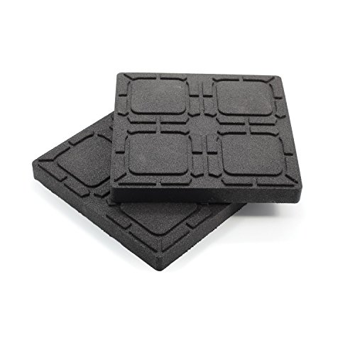 "Camco 44600 Universal Flex Pads for Leveling Blocks, 8.5"" x 8.5"" (Trailer Pads)"