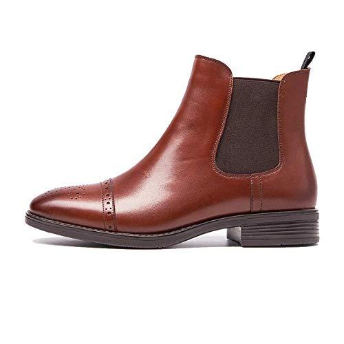 bottines brun pour femmes en Zqzq mode antidérapant chaussures cuir sauvage UZwxOEEqCH