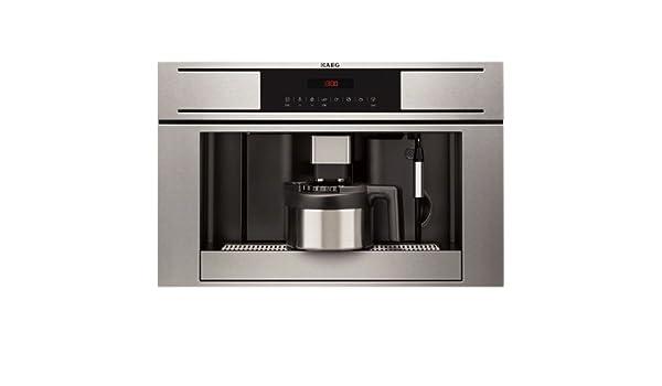 AEG - Cafetera Encastre Espresso Pe3811M, Inox, Electronica, Alto ...