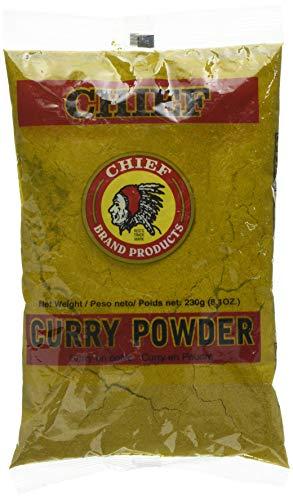 (CHIEF (Indian Head) Curry Powder, 8.1 oz)
