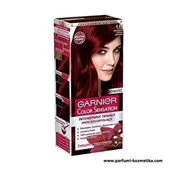 GARNIER COLOR SENSATION, HAIR COLOR DYE 4.60 Intense Dark -