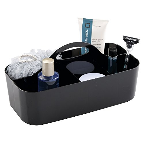 mDesign Bathroom Shower Shampoo Razors