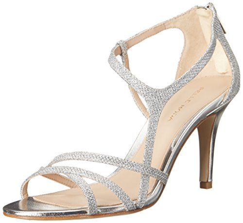 Silver Women's Moda MT Ruby Pelle Sandal Dress 8SwHx6