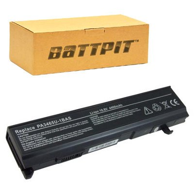 Battpit™ Laptop / Notebook Battery Replacement for Toshiba PA3451U-1BAS (4400 (1bas Notebook)