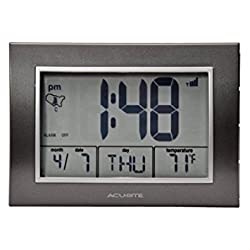 AcuRite Atomic Desk Clock
