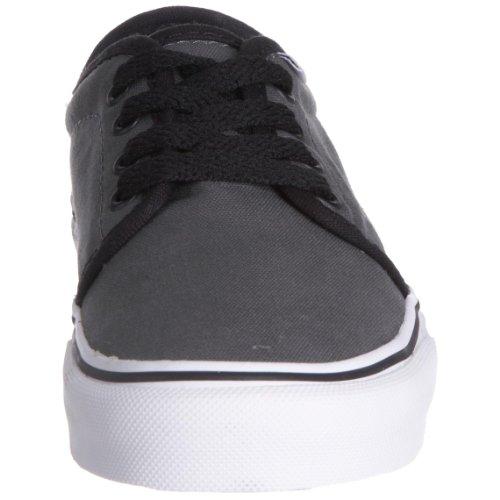 Vans 106 Vulcanised VKV3L7X - Zapatillas de ante para niños, Negro, 8 UK Toddler