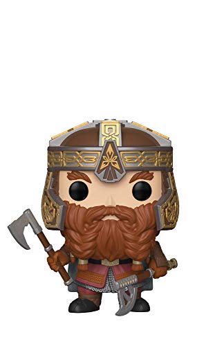 (Funko Pop Movies: Lord of The Rings - Gimli Collectible Figure, Multicolor)