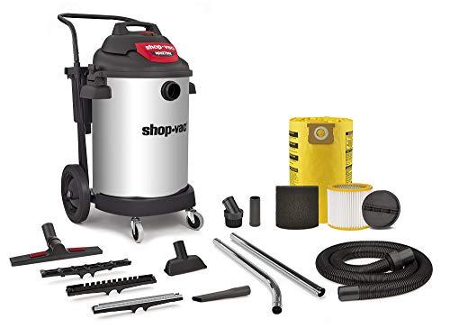 Shop-Vac 9593510 Aspiradora industrial en seco y húmedo de 2 etapas SS, 3.0, 16 galones