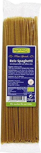 Rapunzel Reis Spaghetti (Nudeln aus Vollkorn-Reis) - 6er Pack (6 x 250g) - BIO