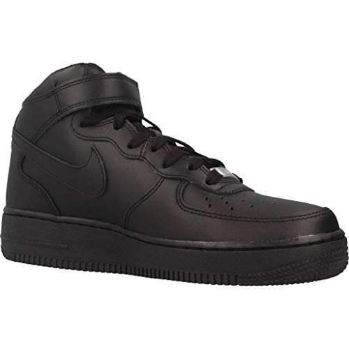 Le Air Nike Sportive Mid Donna Wmns Scarpe Force 1 '07 Black n5UUYOSwq