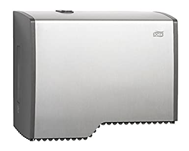 Sca tork 455000 Mini Jumbo Dispensador de papel higiénico, aluminio T2: Amazon.es: Industria, empresas y ciencia