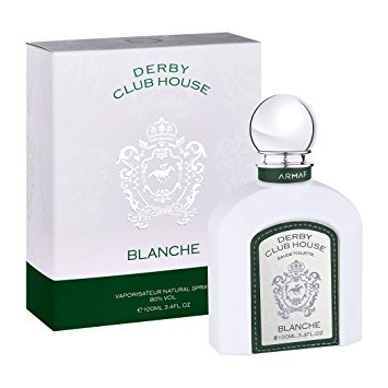 Armaf Derby Club House Blanche EDT Men New in Box, 3.4 oz Eau de Parfum at amazon