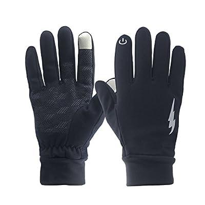 Winter Gloves, WeiMeet Winter Warm Thermal Gloves Outdoors Gloves Cycling Gloves Running Gloves Cold Weather Gloves Texting Gloves Driving Gloves for Men and Women