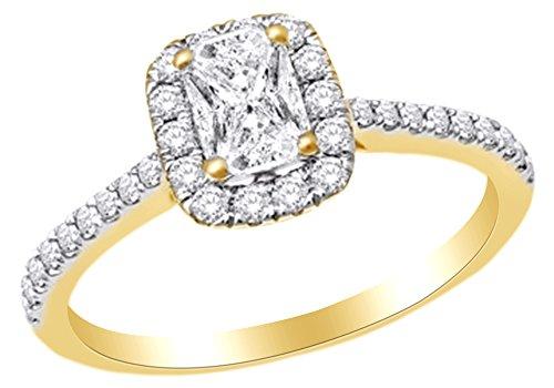 0.75 Ct Emerald Cut Diamond - 9