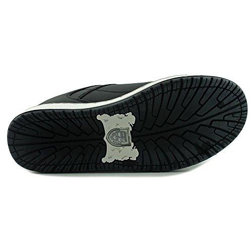Lexani Shine Ronde Neus Lederen Sneakers Wht / Blk / Wht