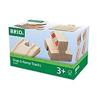 Brio World  - 33385 - LOT DE 2 RAMPES ET 2 BUTOIRS