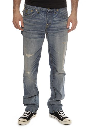 True Religion Slim Leg Jeans BENNY VINTAGE, Color: Blue, Size: 34