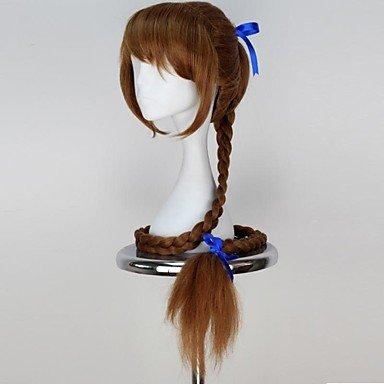 Cosplay- Campanilla y la hada pirata Fauve peluca sintética extra larga trenza anime cosplay peluca: Amazon.es: Deportes y aire libre