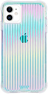 Case-Mate CM039362 iPhone 11 Case - Tough Groove - 6.1 - Iridescent