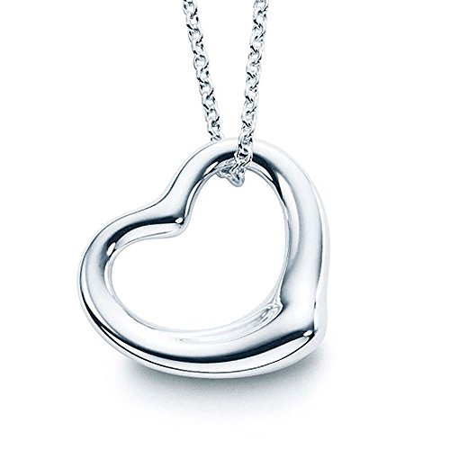 316l Stainless Steel Heart - Minxwinx 316L Surgical Grade Stainless Steel Open Heart Pendant Necklace with 16