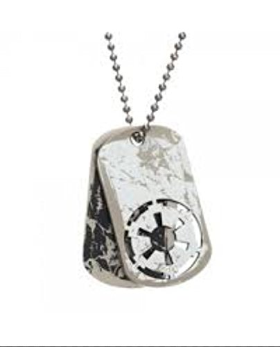 - New Horizons Production Star Wars Imperial Force Logo Pendant Necklace Dog Tag W/ Gift Bag