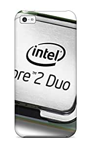 Premium Tpu Intel Core 2 Duo Cover Skin For Iphone 5c