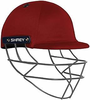 Shrey casque de cricket Performance 2.0Grille de cuisson en acier–Marine–ados (54/57cms) Shrey Cricket Helmets