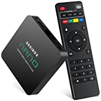 DROIBOX NANO 4K Android 6.0 TV Box Ultra HD Smart Media Player Streamer Quad Core Amlogic S905X Built-in WI-FI RJ45 Ethernet Bluetooth 4.0