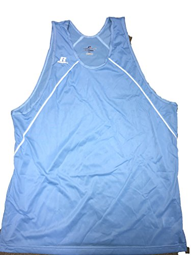 (Russell Athletic DRI-Power Tank Top Mens (X-Large, Blue/White))