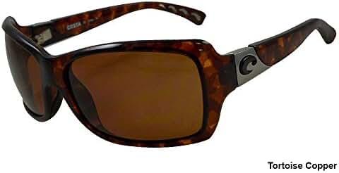 Costa del Mar Women's Isabela IB 48 OGP Polarized Oval Sunglasses