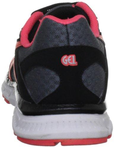 Black Charcoal Asics Sneaker Gel Donna W Nero Zaraca Pink w8qwH