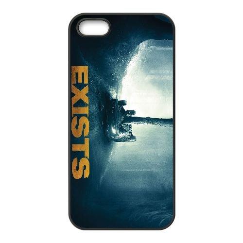 Exists 2014 Wide coque iPhone 5 5S cellulaire cas coque de téléphone cas téléphone cellulaire noir couvercle EOKXLLNCD23606