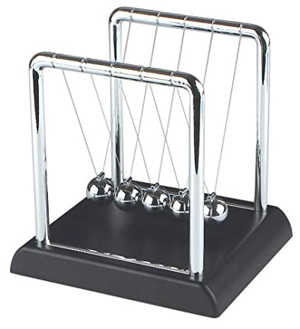 Review Fun Central AT997 Newton's Cradle Physics Science Balls Kit