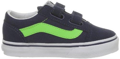 Vans Old Skool V - Zapatillas Dress Blues/Green Flash