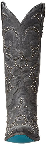 Lane Boots Women's Lovesick Stud Western Boot Grey OWh40CIy