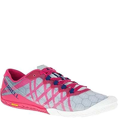 Merrell Women's Vapor Glove 3 Trail Runner, Azalea, 5 M US