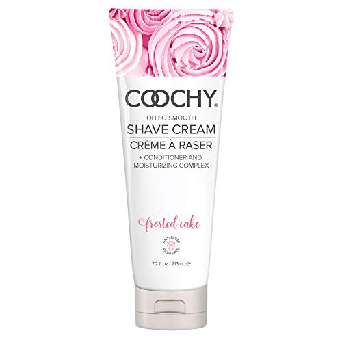 COOCHY Rash-Free Body Shave Cream Frosted Cake