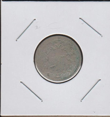 1867 Shield (1866-1883) Nickel About ()