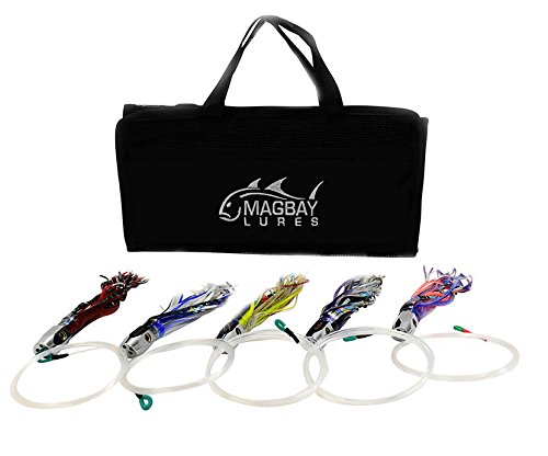 (MagBay Lures 5 PACK RIGGED TUNA JET HEAD 9