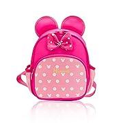 Toddler Girl Backpacks for School Pink Kindergarten Preschool Backpack Kids Baby Child Book Bag