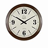 SMC 20-inch Modern Minimalist Ultra Thin Wall Art Decoration Fashion Ultra Quiet Bedroom Living Room Clock Plastic Frame Review