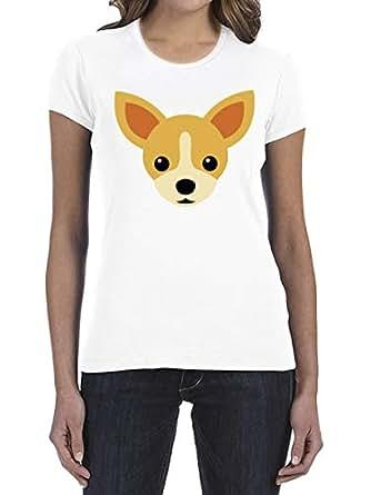 IngraveIT White Cotton Round Neck T-Shirt For Women