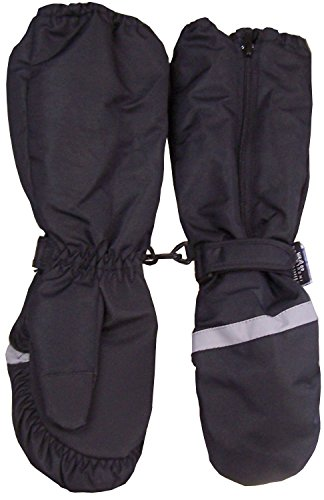 N'ice Caps Boys Thinsulate and Waterproof Elbow Length Reflector Mitten