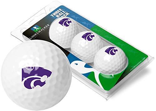 NCAA Kansas State Wildcats - 3 Golf Ball Sleeve